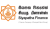 Job vacancy from Siyapatha Finance PLC